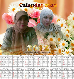 Membuat calendar di CorelDRAW