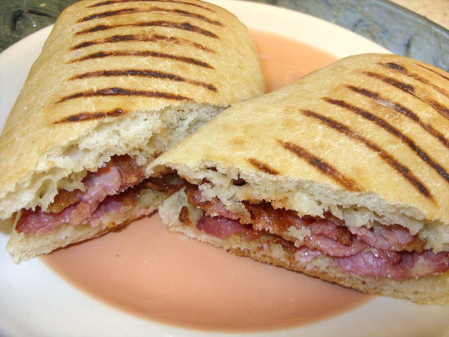 Bacon Jam And Cheese Panini Recipe — Dishmaps
