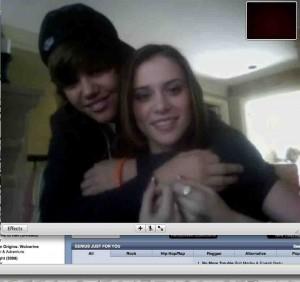 Foto Justin Bieber dan Sang Pacar
