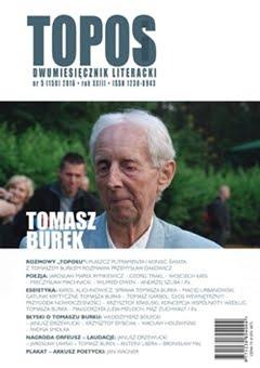 """""""Topos"""" poświęcony Dr. Tomaszowi Burkowi"""