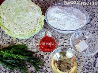 Placinta cu varza ingrediente reteta