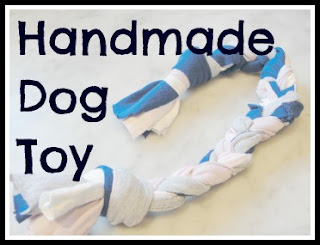 braided chew toy