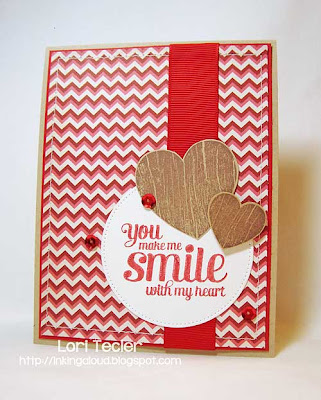 You Make Me Smile with my Heart-designed by Lori Tecler-stamps from Waltzingmouse Stamps