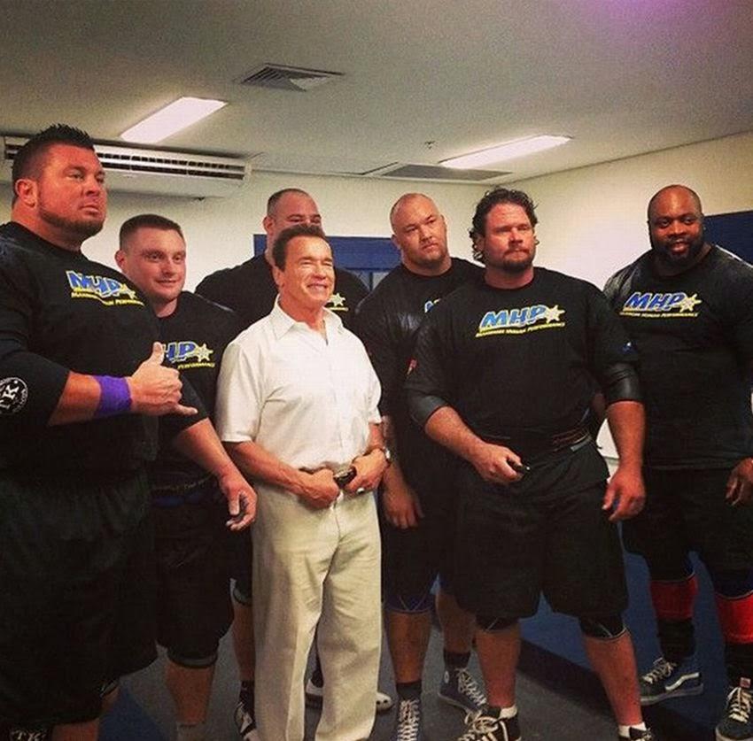 Go Back > Gallery For > Dwayne Johnson Vs Arnold Schwarzenegger