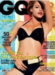 """Joana Alvarenga sensual na """"GQ"""" Julho"""