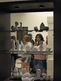 Introduction to Sculpture class, November 1, 2012