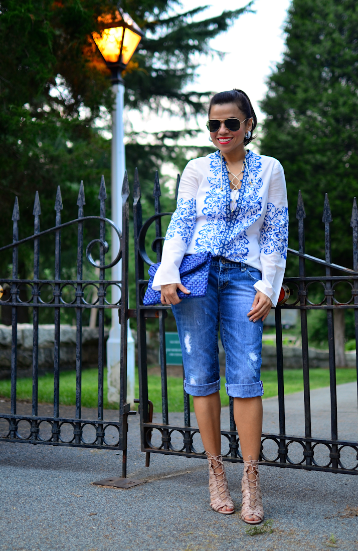 Bermuda Shorts Street Style Outfit