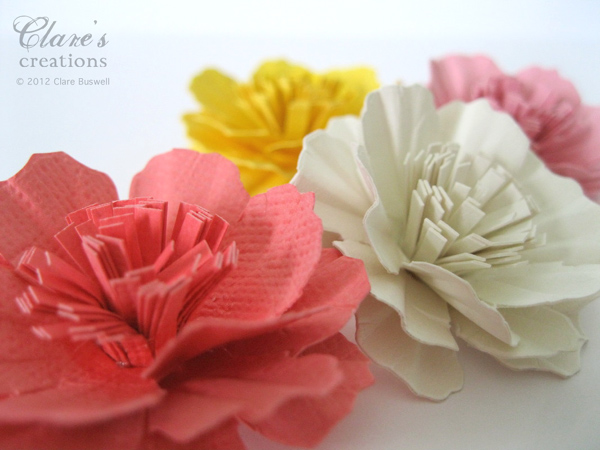 Paper carnation flower tutorial video clares creations paper carnation flower tutorial video thursday june 14 2012 mightylinksfo