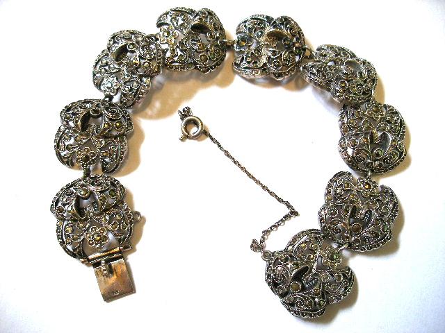 Marcasite jewelry | Etsy