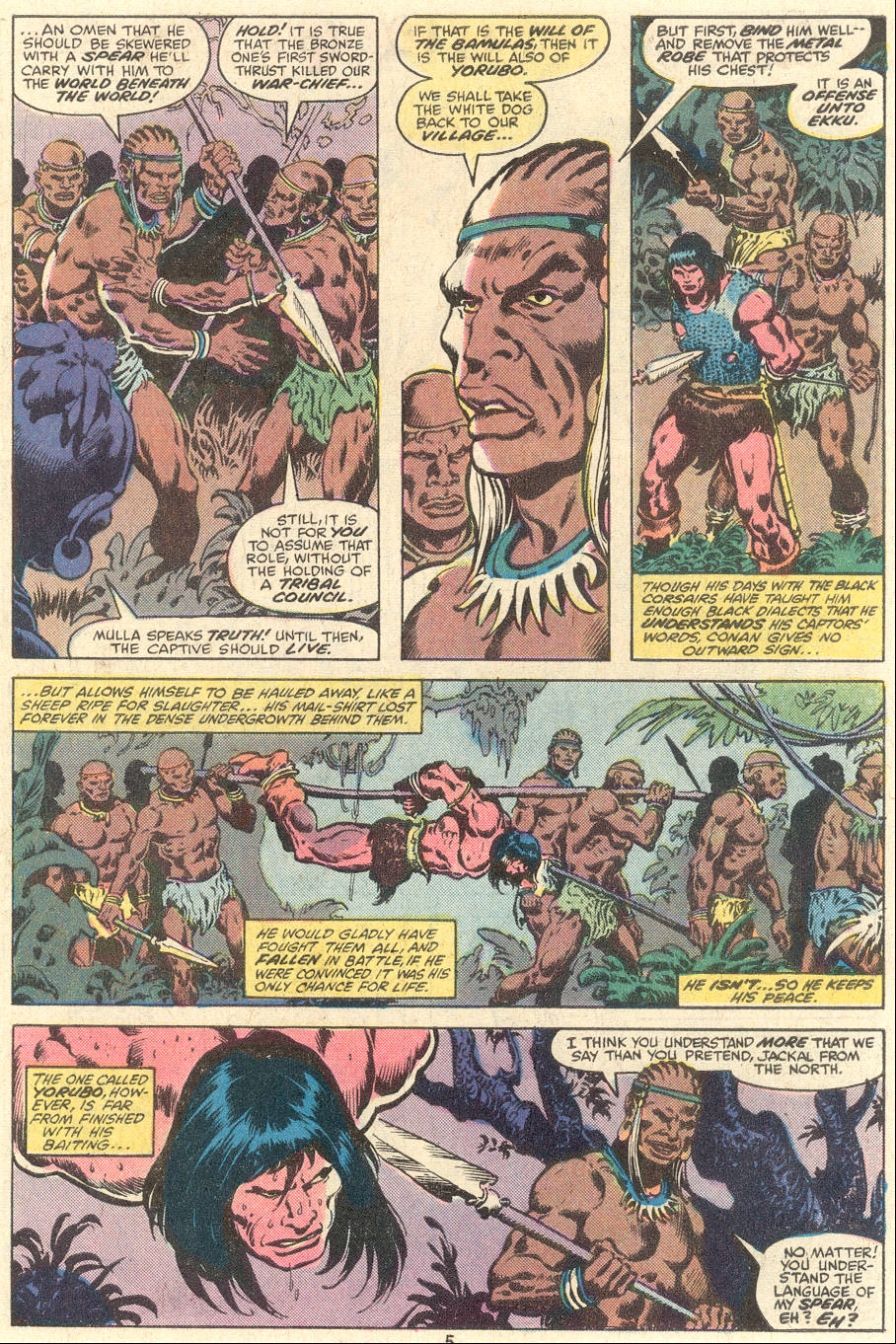 Conan the Barbarian (1970) Issue #101 #113 - English 5