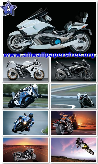60 Amazing Motorcycles HD Wallpapers 1366 X 768 [Set 11]
