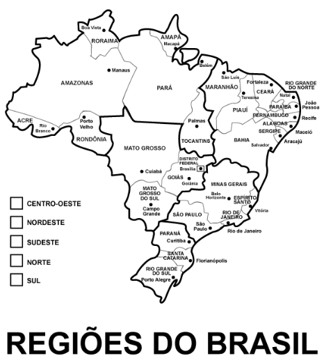 JOO PAULO GEOGRAFIA GEOGRAFIA MAPA DO BRASIL POLTICO