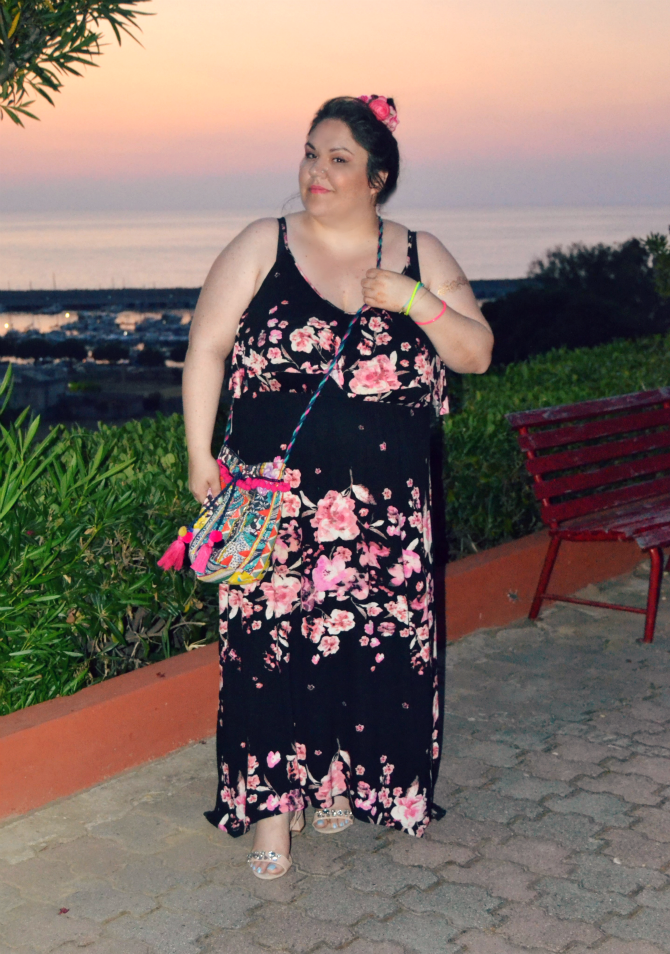 vacanza a tropea - maxidress plus size