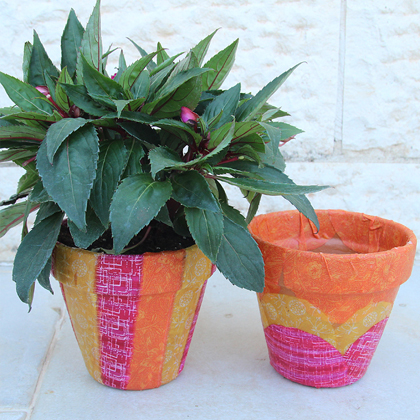 How To Make Pots For Your Garden!