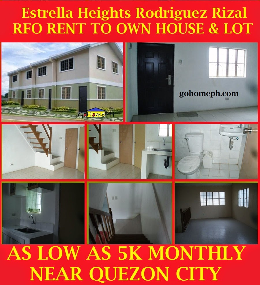 gohomeph: affordable and high end rent to own properties in rizal
