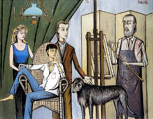 Spirito della scala bernard buffet a new infatuation for Bernard peintre