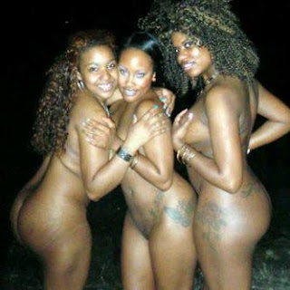 The Madness Continues..Nigerian Students Posing Nude In Threes