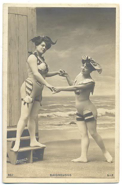 Купальный костюм 1910.