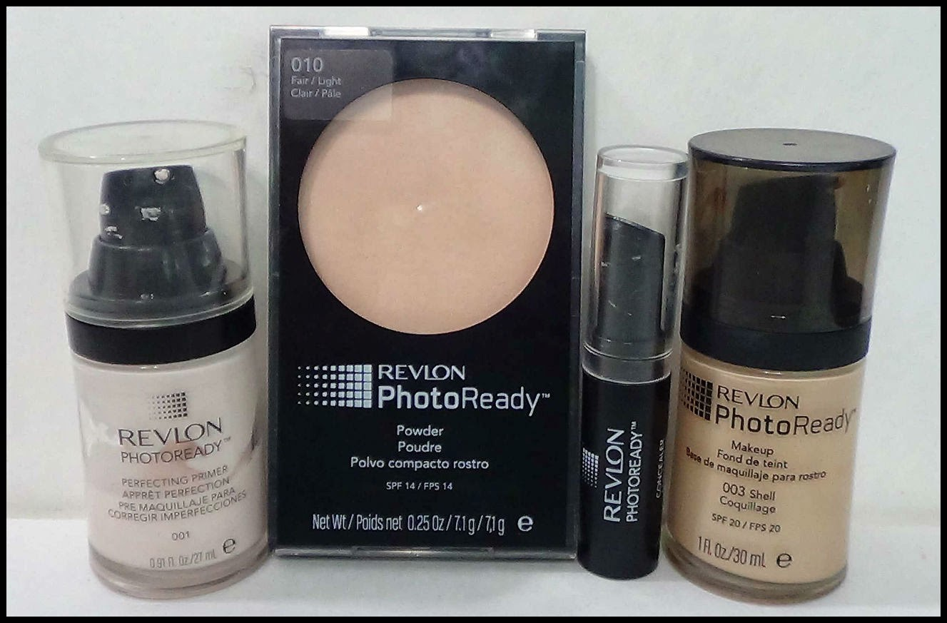 Living and Loving Makeup: Favorite Face Look: Revlon Photo Ready ...