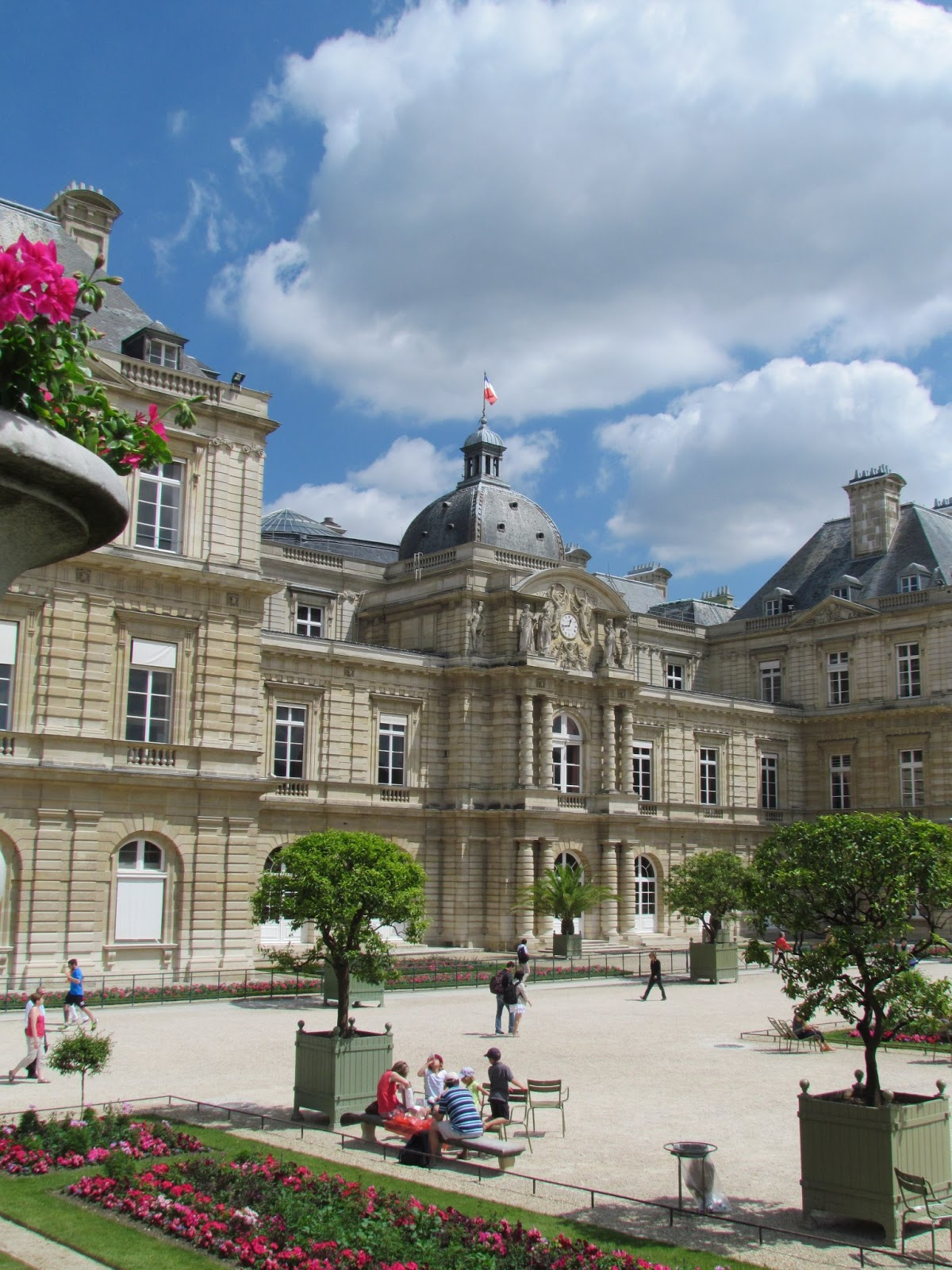 Images of the jardin du luxembourg paris in july 2013 for Jardin luxemburgo
