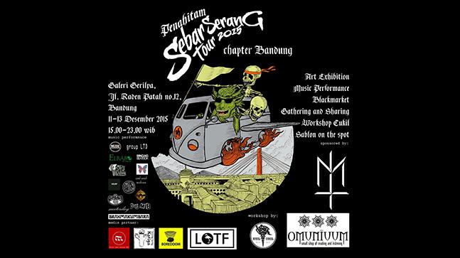Sebar Serang Tour 2015