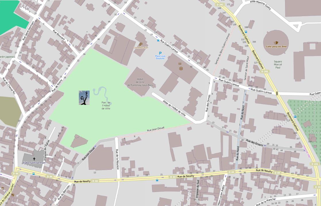 10 mai FontenaysousBois SaintGeorge Dalayrac ~ Visuel  ~ Plan De Montreuil Sous Bois