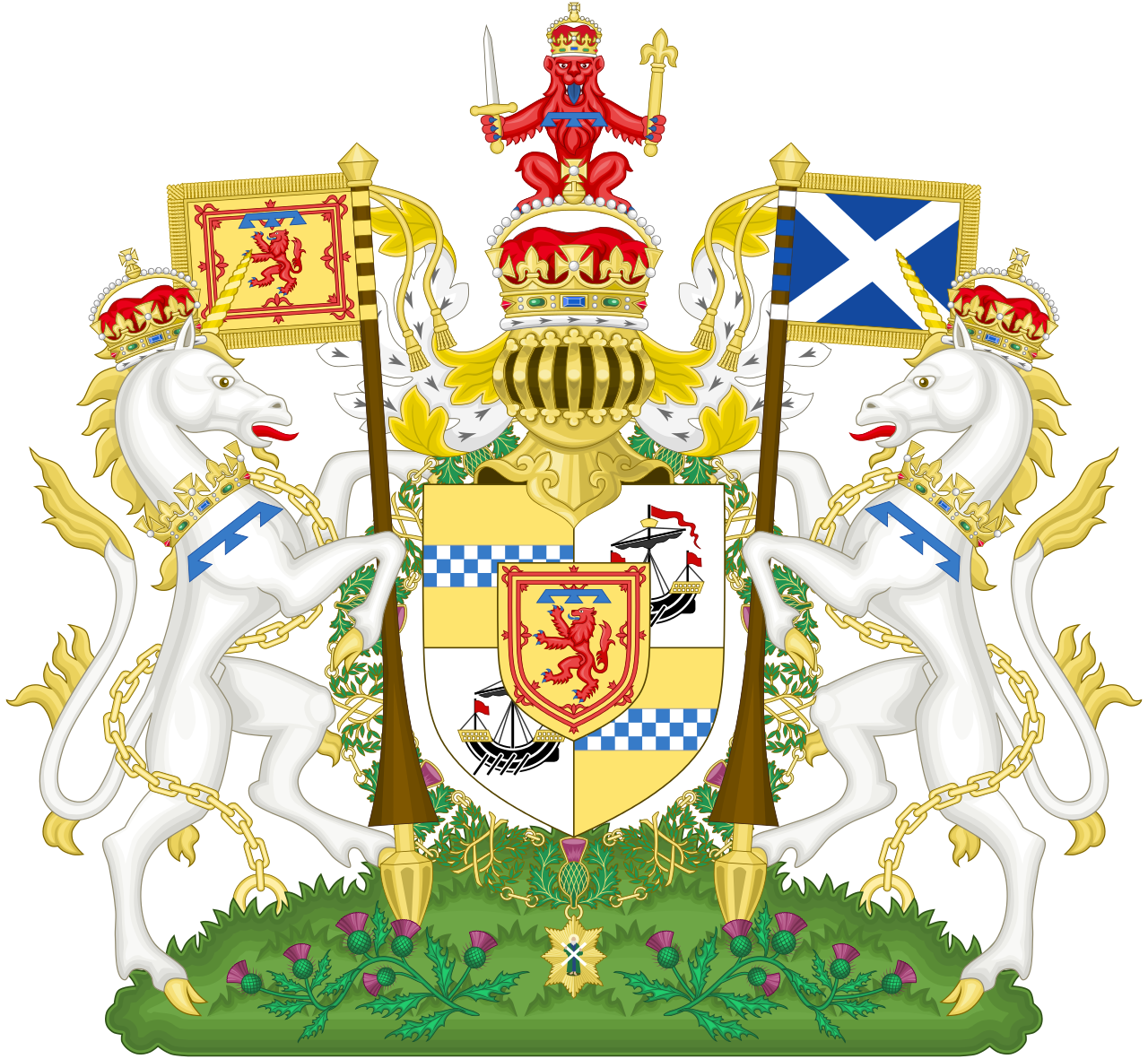 Coat of Arms of the Duke of Rothesay