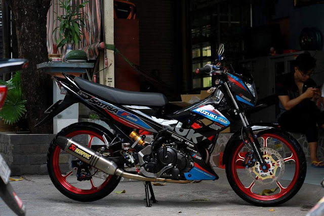 Modifikasi Suzuki Satria Fu Sport Minimalis Thailand