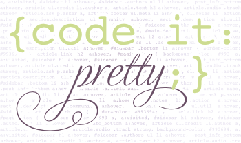 Code it Pretty logo
