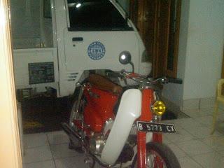 Pengiriman Honda CG Jakarta Manado