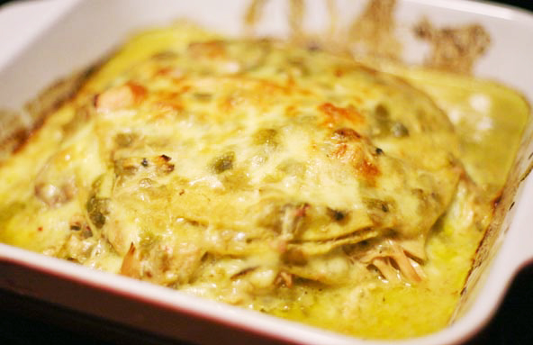 Gluten-free Gourmand: Cinco de Mayo Chicken Enchiladas Verde