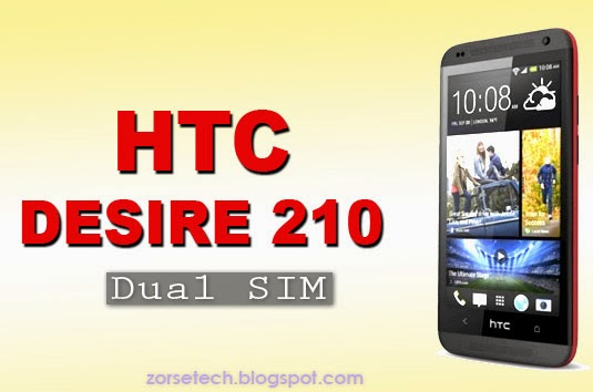 HTC Desire 210 with 4 inch display powerd by 1GHz dual-core processor