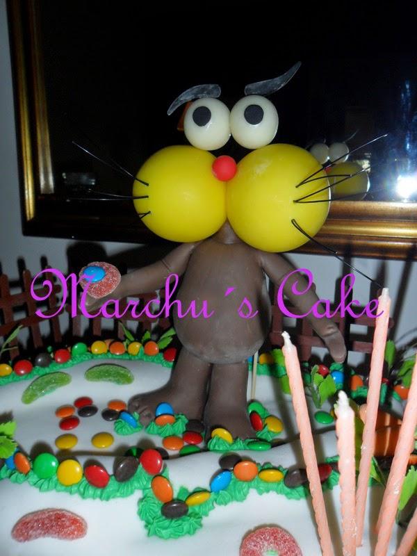 """Torta decorada """"Gaturro"""""""