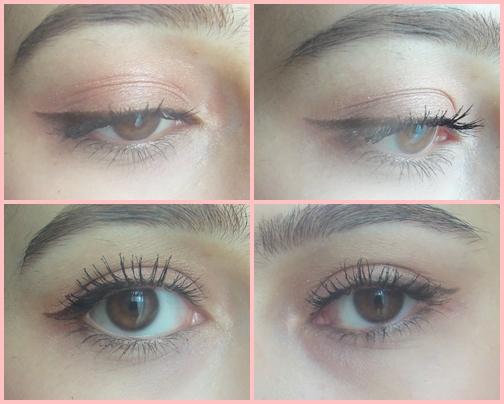 sephora doe eyed eyeliner felt tip brown atomic volume mascara