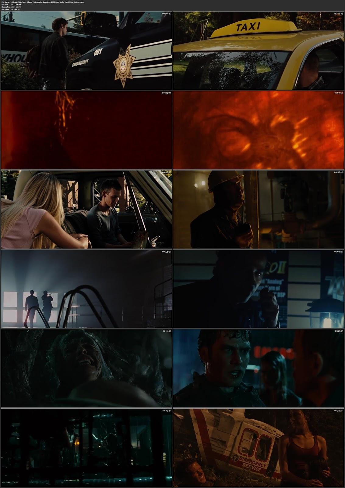 Aliens Vs. Predator Requiem 2007 Hindi English 300MB BluRay 480p at lanstream.uk