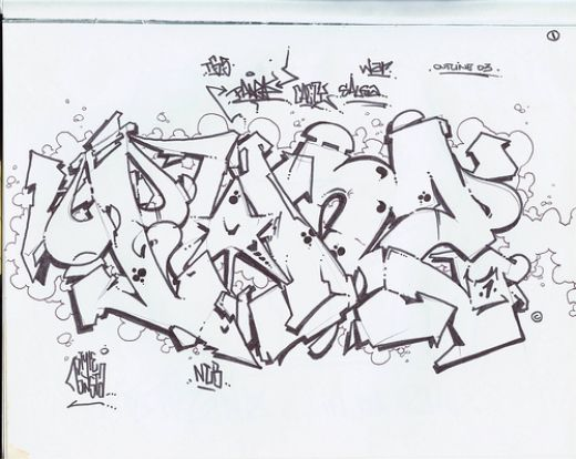 Graffiti Sketches