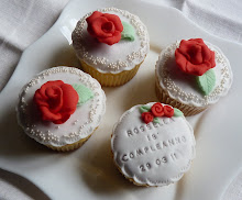 cupcake rose rosse
