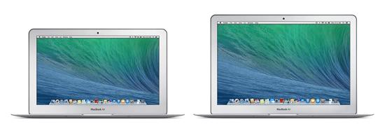 Nuovi MacBook Air da 11 e 13 pollici (inizio 2014)
