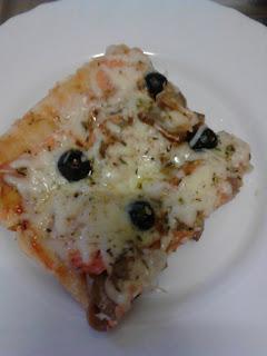 Pizza De Salmon Ahumado
