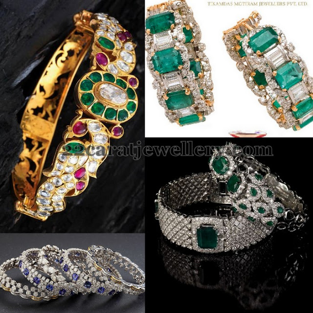Royal Look Diamond Bangles