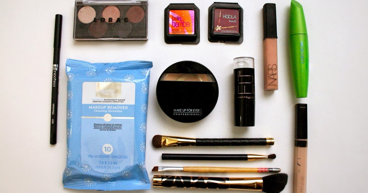 Lexi Lazaro: My On the Go Makeup Essentials