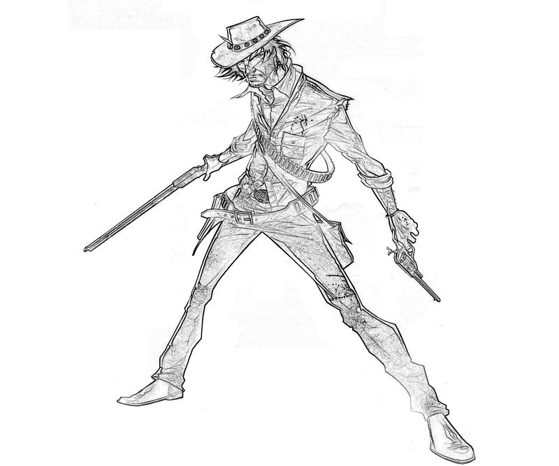red dead redemption coloring pages - photo#8