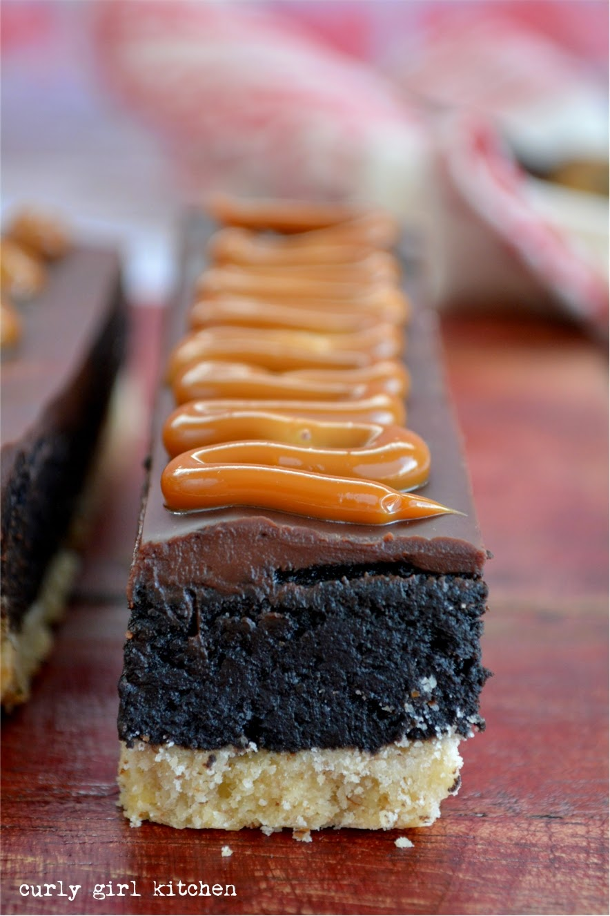 ... Girl Kitchen: Shortbread Brownies with Ganache and Dulce de Leche