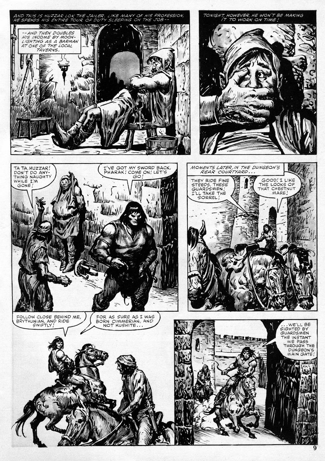 The Savage Sword Of Conan Issue #77 #78 - English 9