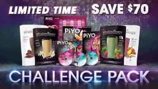 piyo challenge pack, piyo sale, piyo, chalene johnson, shakeology