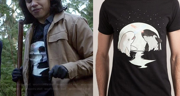 Camisetas Cisco Ramón en The Flash : Narvales
