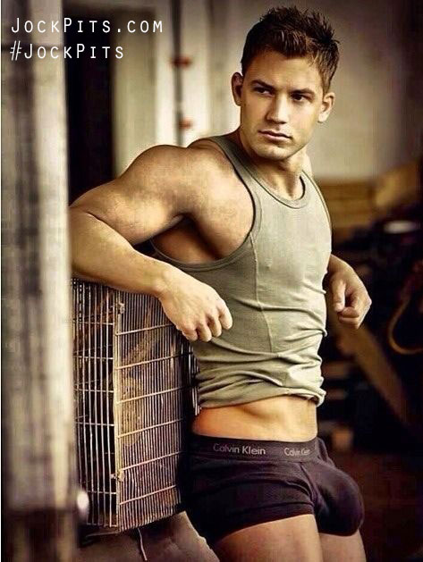Male Model's Armpits
