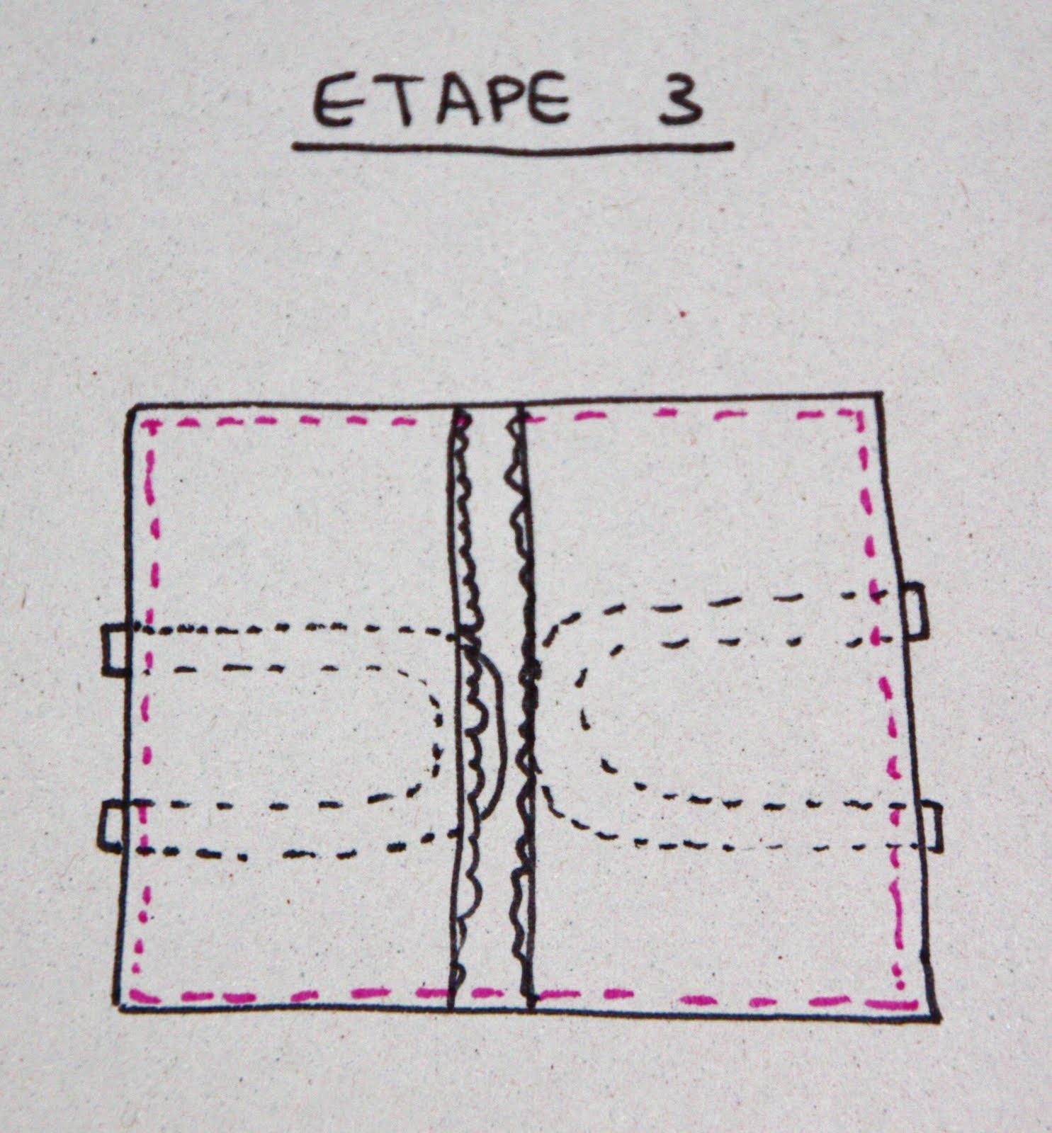 le chat qui tricote tutoriel pour r aliser le porte tarte. Black Bedroom Furniture Sets. Home Design Ideas