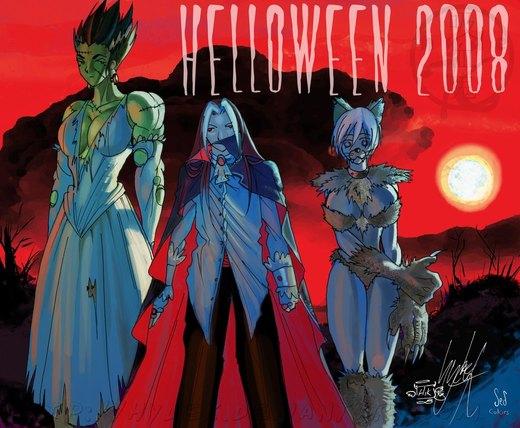 Halloween 2008 por hydek