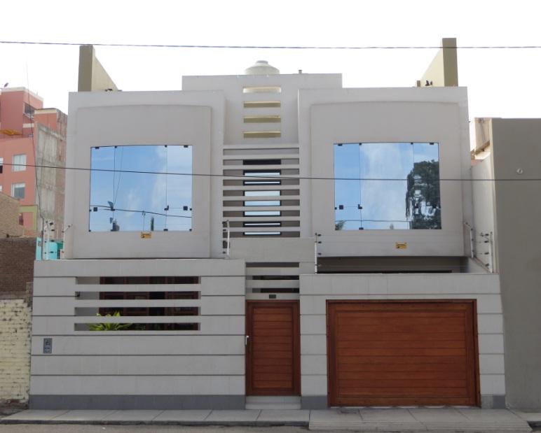 Fachadas y casas bellas fotos de casas modernas tomadas for Modelos de fachadas para casas de 2 pisos
